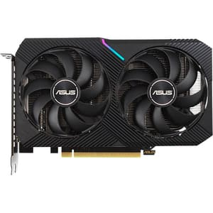 Placa video ASUS DUAL GeForce RTX 3060 Ti V2 MINI, 8GB GDDR6, 256bit, DUAL-RTX3060TI-8G-MI