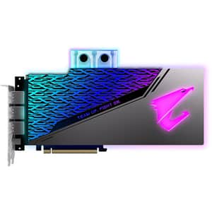 Placa video GIGABYTE AORUS GeForce RTX 2080 Super Waterforce WB 8G, 8GB GDDR6, 256bit, N208SAORUS WB-8GC