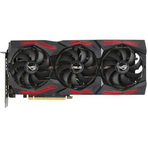 Placa video ASUS NVIDIA GeForce RTX 2060 ROG Strix EVO Gaming, 6GB GDDR6, 192bit, ROG-STRIX-RTX2060-O6G-EVO-GAMING