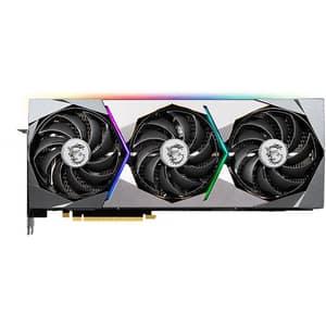 Placa video MSI NVIDIA GeForce RTX 3090 SUPRIM X, 24GB GDDR6X, 384bit
