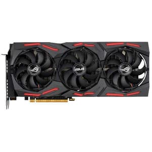 Placa video ASUS AMD Radeon RX 5600 XT ROG Strix Gaming O6G, 6GB GDDR6, 192bit, ROG-STRIX-RX5600XT-O6G-GAMING