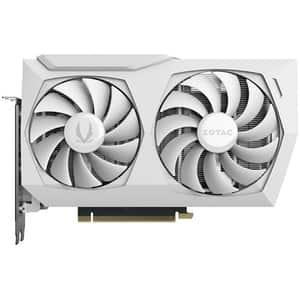 Placa video ZOTAC Gaming GeForce RTX 3060 AMP White Edition, 12GB GDDR6, 192bit, ZT-A30600F-10P