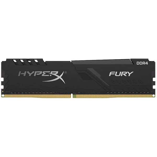 Memorie desktop KINGSTON HyperX Fury Black, 4GB DDR4, 2400MHz, CL15, HX424C15FB3/4