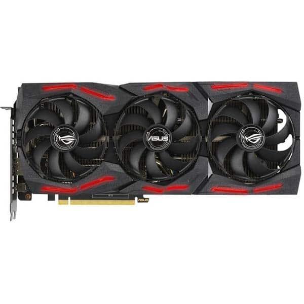 Placa video ASUS NVIDIA GeForce RTX 2060 ROG Strix EVO Gaming, 6GB GDDR6, 192bit, ROG-STRIX-RTX2060-O6G-EVO-GAMING