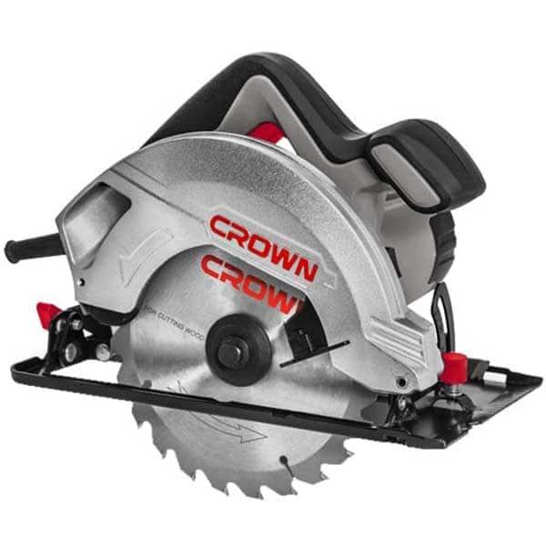 Fierastrau circular CROWN CT15187-165, 1200W, 5500rpm, disc 165mm, adancime 54mm