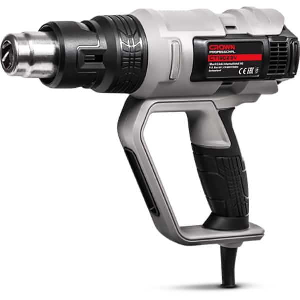 Pistol cu aer cald CROWN CT19023K, 2000W, 500 l/min, 600 C