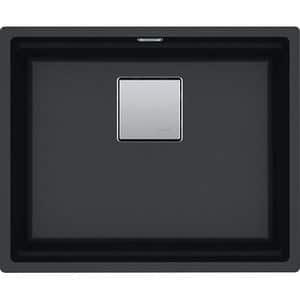 Chiuveta bucatarie FRANKE KNG 110-52 125.0529.601, 1 cuva, compozit granit, negru