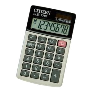 Calculator de birou CITIZEN SLD-200N, 8 cifre, gri