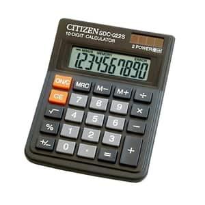 Calculator de birou CITIZEN SDC-022S, 10 cifre, negru