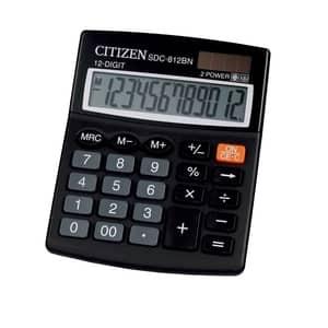 Calculator de birou CITIZEN SDC-812BN 12 cifre, negru