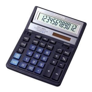 Calculator de birou CITIZEN SDC-888X, 12 cifre, albastru