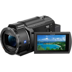 Camera video SONY FDR-AX43, 4K, Wi-Fi, NFC, negru