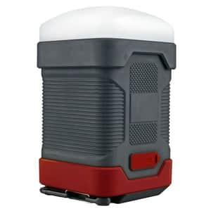 Lanterna LED camping PROMATE CampLite-1, 1 LED, PowerBank 10000 mAh, negru
