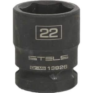 "Cap hexagonal cu impact STELS 13926, 22 x 38mm, 1/2"", CrMo"