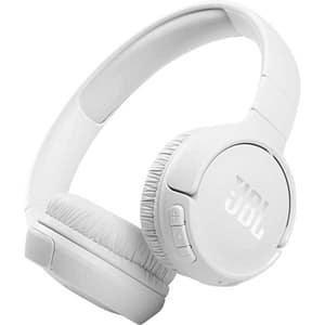 Casti JBL Tune 510BT, Bluetooth, On-ear, Microfon, alb