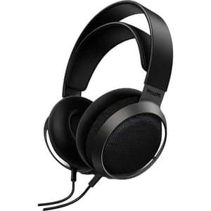 Casti PHILIPS Fidelio X3, Cu Fir, Over-Ear, Microfon, negru