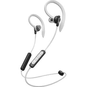 Casti PHILIPS TAA4205BK/00, Bluetooth, In-ear, Microfon, negru