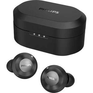 Casti PHILIPS TAT8505BK/00, True Wireless, Bluetooth, In-ear, Microfon, Noise Cancelling, negru