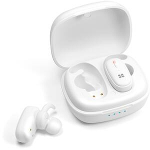 Casti PROMATE TrueBlue-3, True Wireless, Bluetooth, In-Ear, Microfon, alb