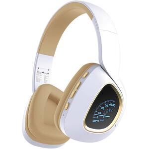 Casti PROMATE Bavaria, Bluetooth, Over-Ear, Microfon, alb