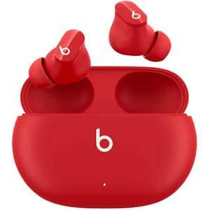 Casti BEATS Studio Buds, True Wireless, Bluetooth, In-Ear, Microfon, Noise Cancelling, Beats Red