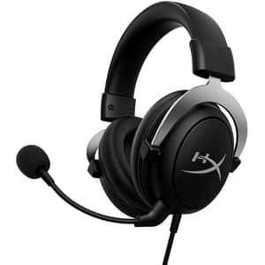 Casti Gaming HyperX CloudX, Xbox, 3.5mm, argintiu