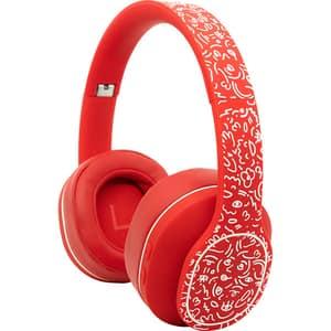 Casti HAMA HaHaHa Feel, Bluetooth, On-Ear, Microfon, Noise Cancelling, rosu