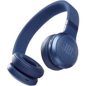 Casti JBL Live 460NC, Bluetooth, On-ear, Microfon, Noise Cancelling, albastru