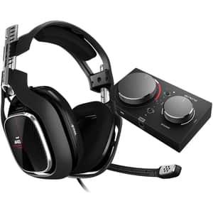 Casti Gaming ASTRO A40 TR, surround, 3.5 mm, negru + MixAmp Pro TR Xbox One