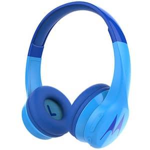 Casti pentru copii MOTOROLA Squads 300, Bluetooth, On-Ear, Microfon, albastru