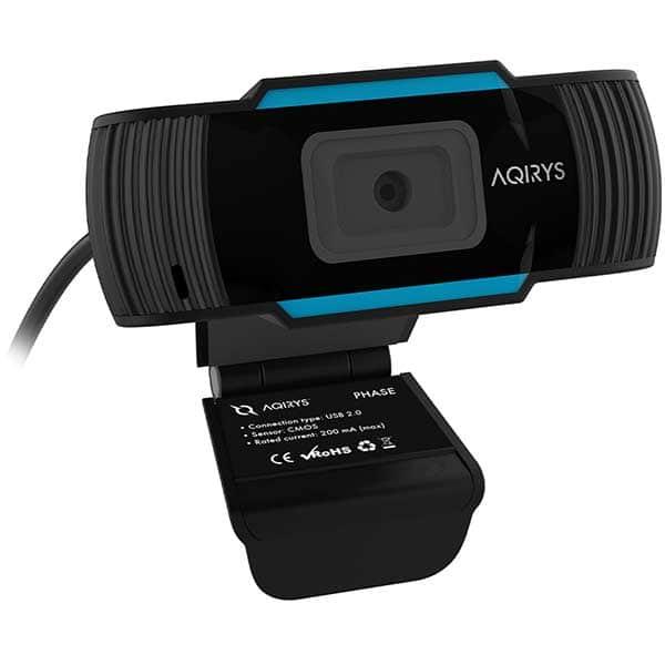 Camera Web AQIRYS Phase, Full HD 1080p, negru