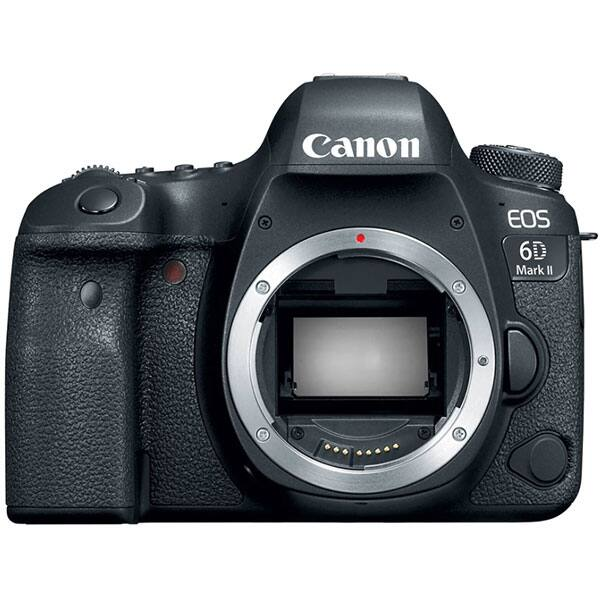 Camera foto digitala CANON EOS 6D Mark II, 26.2 Mp, Body, Wi-Fi, Bluetooth, negru
