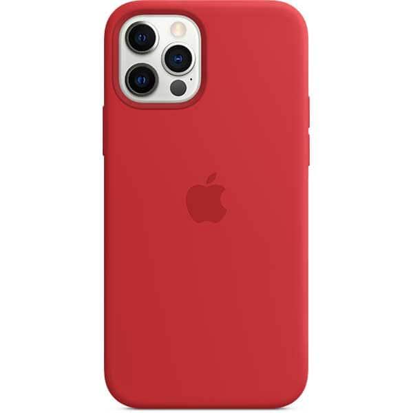 Carcasa cu MagSafe pentru Apple iPhone 12 Pro/iPhone 12, MHL63ZM/A, silicon, PRODUCT (RED)