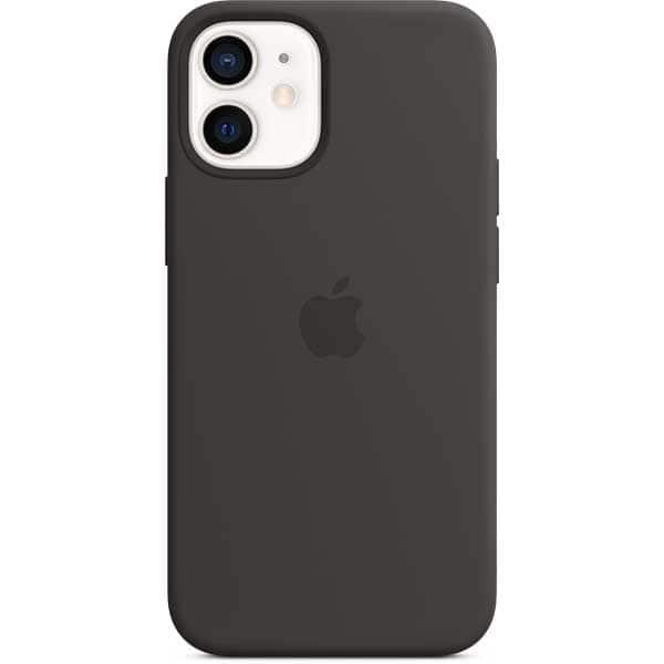 Carcasa cu MagSafe pentru Apple iPhone 12 mini, MHKX3ZM/A, silicon, Black