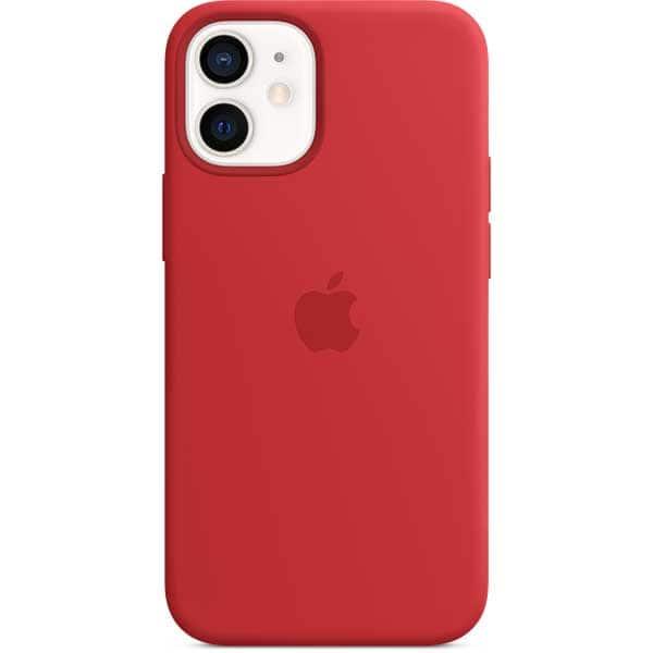 Carcasa cu MagSafe pentru Apple iPhone 12 mini, MHKW3ZM/A, silicon, PRODUCT (RED)