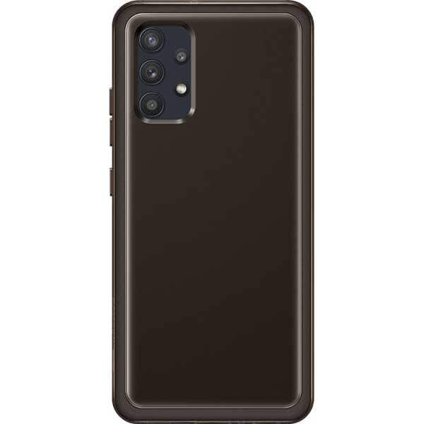 Carcasa pentru SAMSUNG Galaxy A32 4G, EF-QA325TBEGEU, silicon, negru