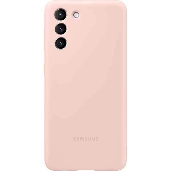 Carcasa pentru SAMSUNG Galaxy S21, EF-PG991TPEGWW, silicon, roz