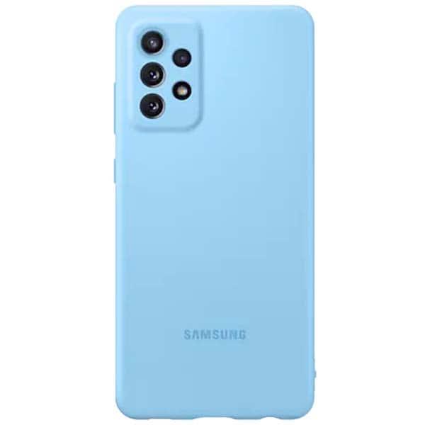 Carcasa pentru SAMSUNG Galaxy A72, EF-PA725TLEGWW, silicon, albastru