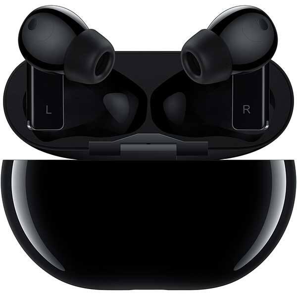 Casti HUAWEI FreeBuds Pro, True Wireless, Bluetooth, In-Ear, Microfon, Carcasa Incarcare Wireless, Noise Cancelling, Carbon Black