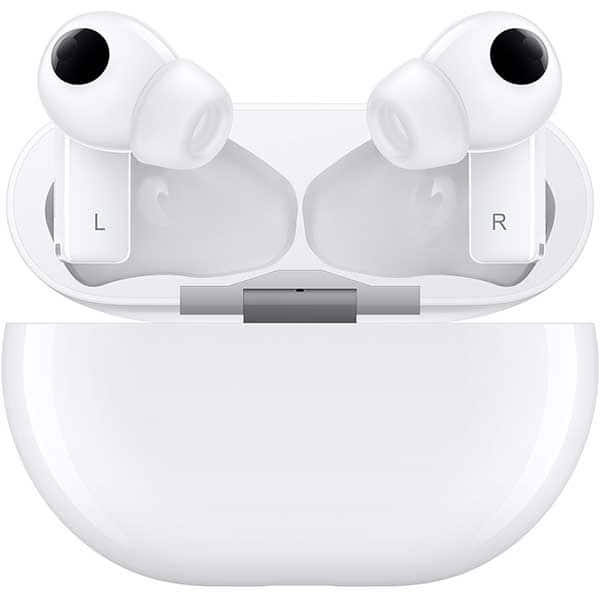 Casti HUAWEI FreeBuds Pro, True Wireless, Bluetooth, In-Ear, Microfon, Carcasa Incarcare Wireless, Noise Cancelling