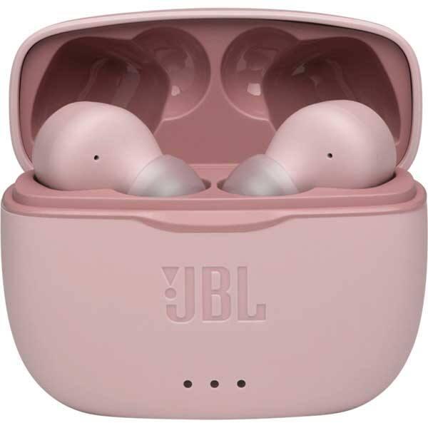 Casti JBL TUNE 215TWS, True Wireless, Bluetooth, In-ear, Microfon, roz