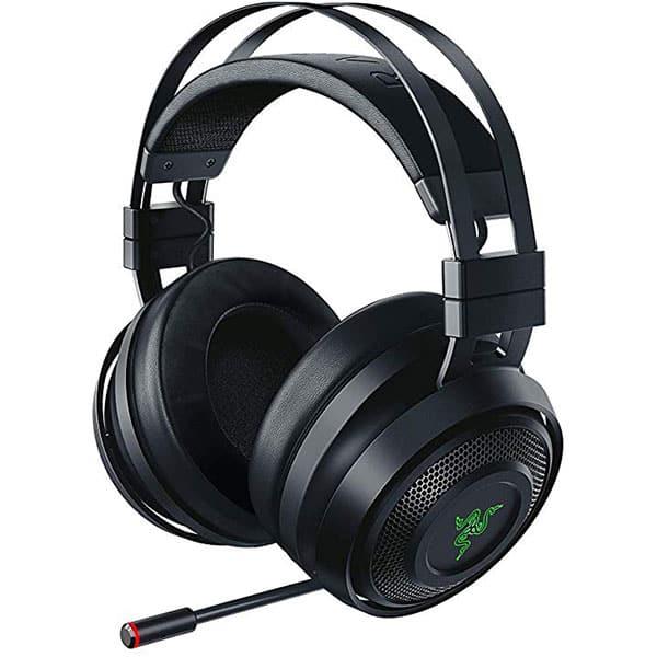 Casti Gaming Wireless RAZER Nari, stereo, multiplatforma, dongle 2.4Ghz, 3.5mm, negru