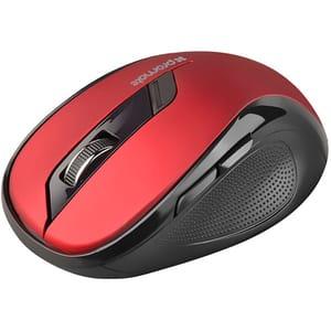 Mouse Wireless PROMATE Clix-7, 1600 dpi, rosu