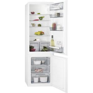 Combina frigorifica incorporabila AEG SCB51811LS, Low Frost, 268 l, H 177.2 cm, Clasa A+, alb