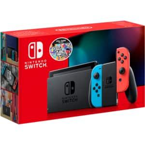 Consola NINTENDO Switch (Joy-Con Neon Green/Red) HAD + joc Just Dance 2021 (cod download)