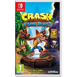 Crash Bandicoot N. Sane Trilogy Remastered - Nintendo Switch (include 3 jocuri)