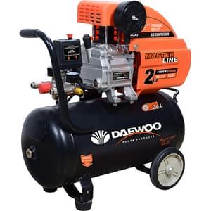 Compresor aer cu ulei DAEWOO DAAC24D, 24L, 1500W, 2CP, 8 bar, 169L/min