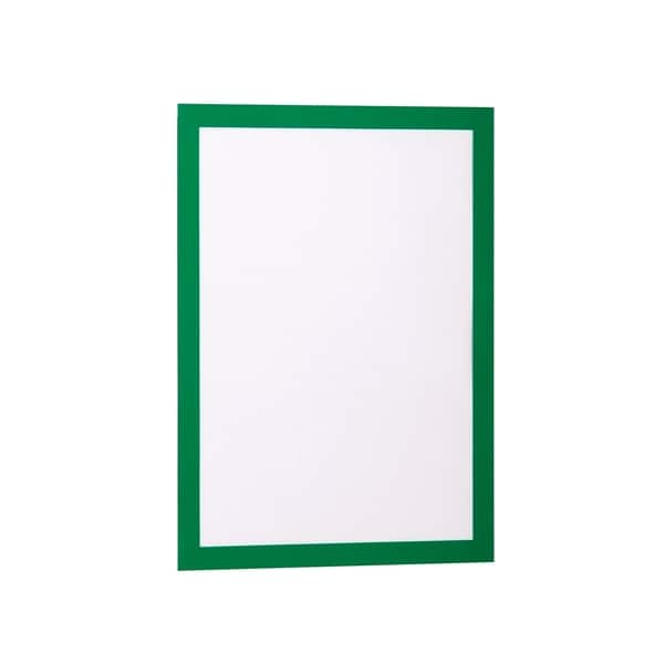 Display magnetic DURABLE Duraframe, A4, 2 bucati, verde