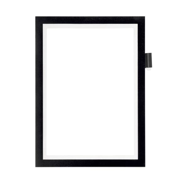 Display magnetic DURABLE Note, A4, 1 bucata, negru