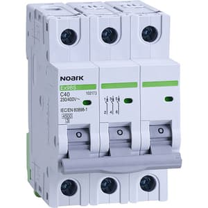 Siguranta automata modulara NOARK 102173, 3P, 40A, curba C